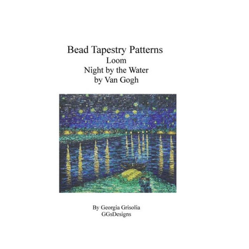 Bead Tapestry Patterns Loom Night by the Water by Van Gogh