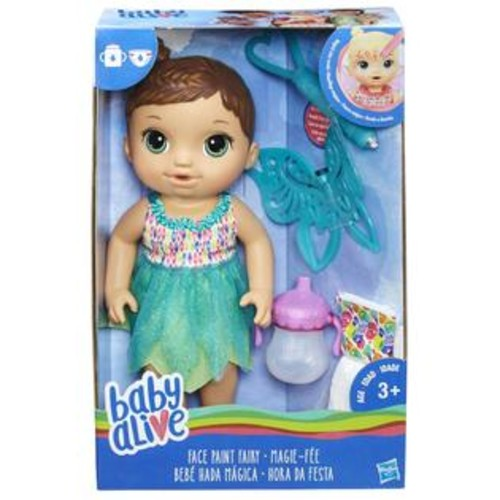 Hasbro Baby Alive Face Paint Fairy Doll - Brunette