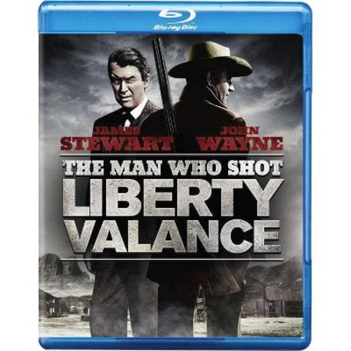 The Man Who Shot Liberty Valance [Blu-ray] [1962]