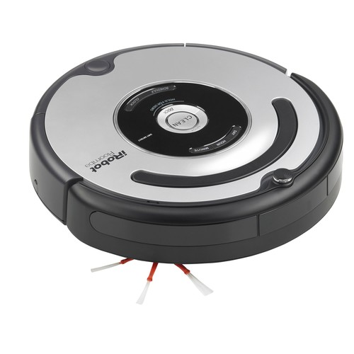 Roomba 560 Robot Vacuum Cleaner Silver (01)