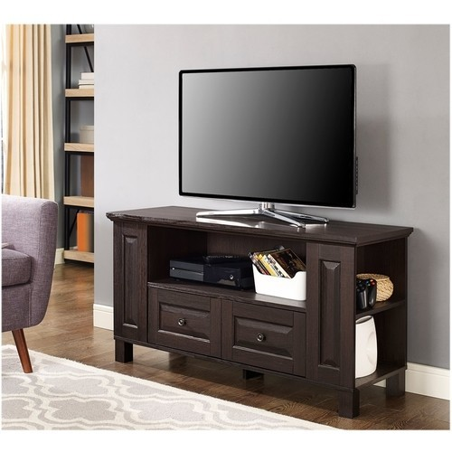 Walker Edison Furniture - TV Stand for Most Flat-Panel TVs Up to 48