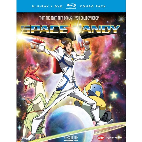 Space Dandy: Season 1 [4 Discs] [Blu-ray/DVD]