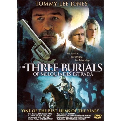 Three burials of melquiades estrada (DVD)