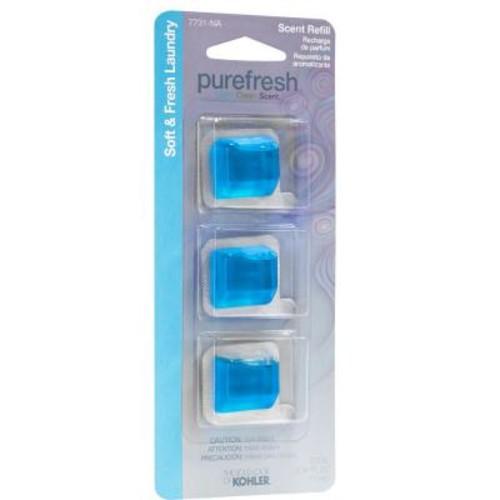 Kohler Soft & Fresh Laundry Refill Scent Pack for Purefresh Toilet Seat