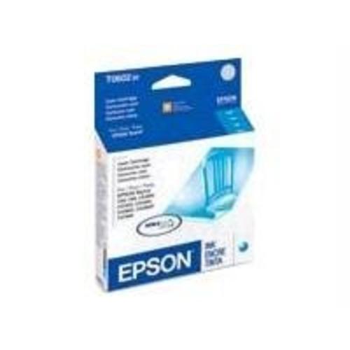Epson T060220 DURABrite Ultra Cyan Standard Capacity Cartridge Ink [Cyan]