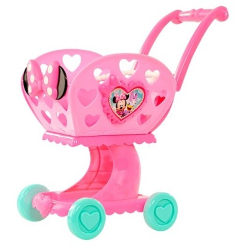 Disney Minnie Bow-Tique 2-in-1 Shopping Cart - Pink/Teal