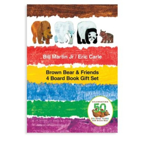 Brown Bear & Friends Four Board Book Gift Set