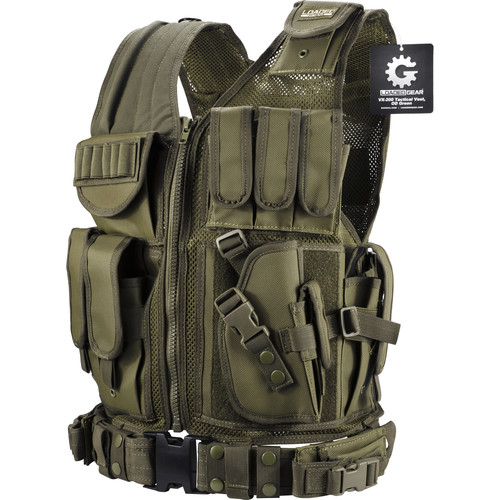 Loaded Gear VX-200 Tactical Vest (OD Green)