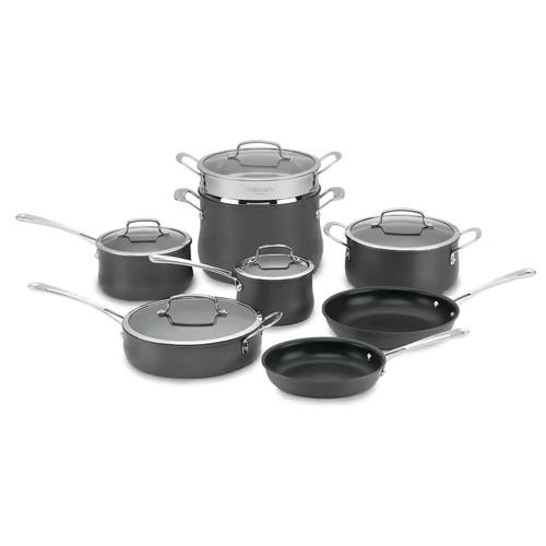 Cuisinart 13-pc. Contour Hard-Anodized Nonstick Cookware Set