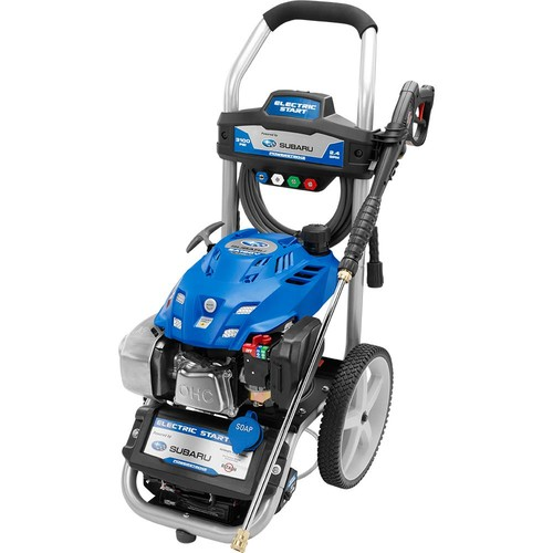 PowerStroke Reconditioned 3,100-PSI 2.4-GPM Subaru Electric Start Gas Pressure Washer