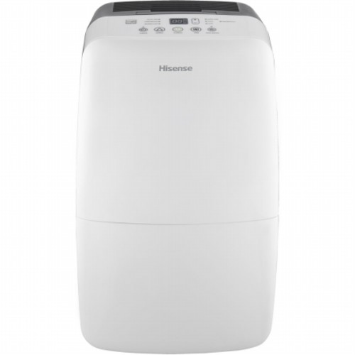 Hisense DH-50KD1SDLE Energy Star 50 Pint 2-Speed Dehumidifier with Built-in 1200W Heater