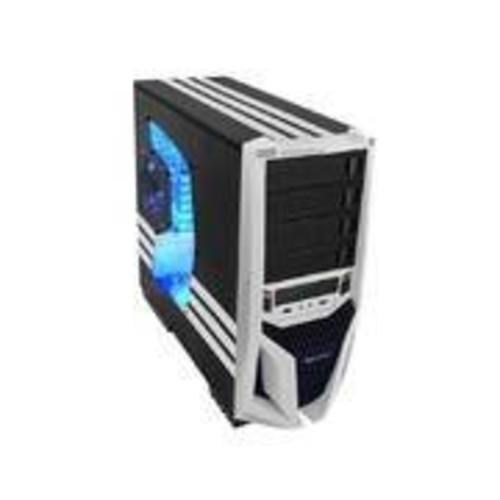 Raidmax No Power Supply ATX Mid Tower Case, Black/White ATX-298WW