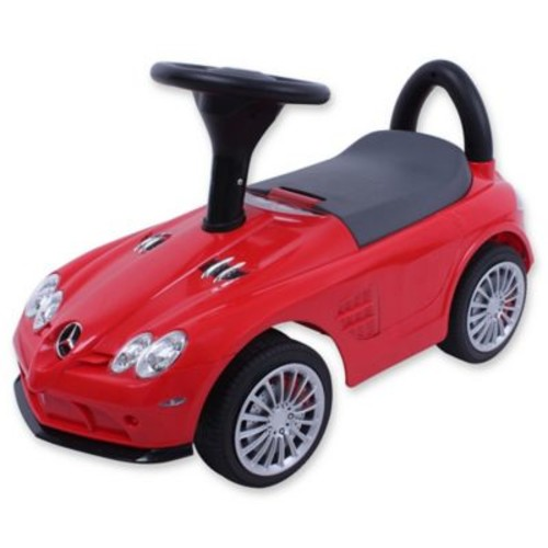 Mercedes-Benz Ride-On in Red