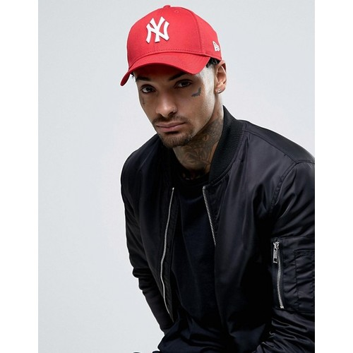 Era 9Forty NY Adjustable Cap in Red
