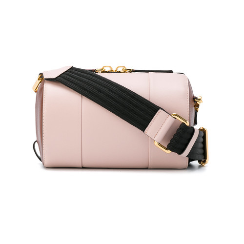 cylinder shoulder bag