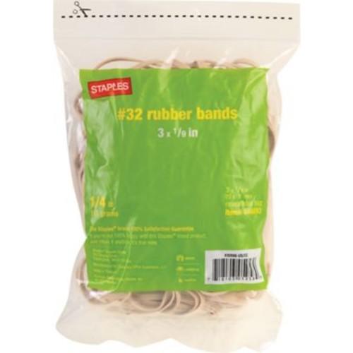 Staples Economy Rubber Bands Size #32, 1/4 lb.
