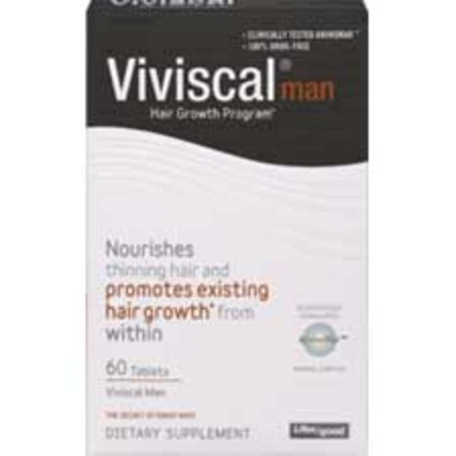 Viviscal Man Hair Growth Supplements Tablets, 60CT