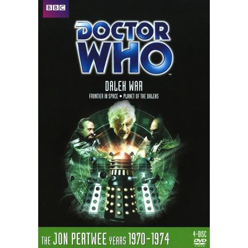 Doctor Who: Dalek War/Planet of the Daleks [4 Discs] [DVD]