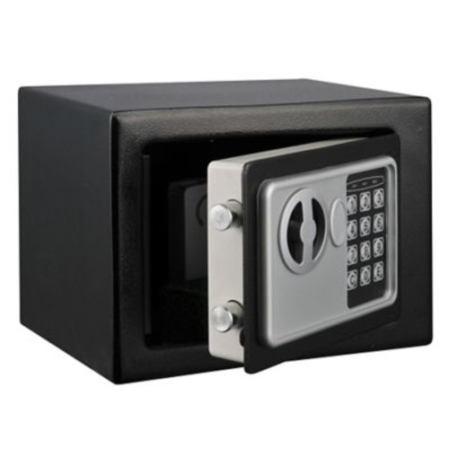 Stalwart Electronic Deluxe Digital Steel Safe, Grey or Black
