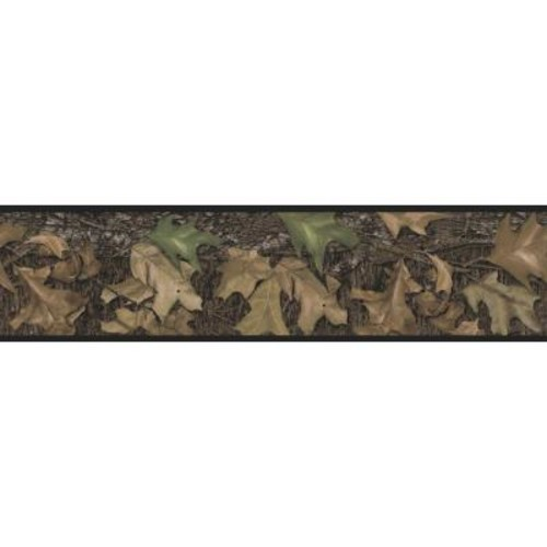 RoomMates Mossy Oak Camouflage Peel and Stick Wallpaper Border