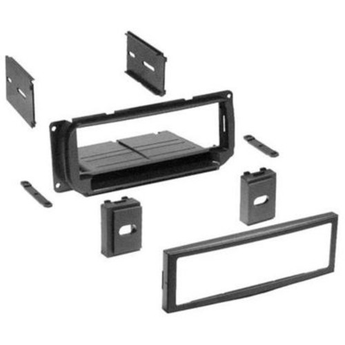 AMERICAN INTERNATIONAL CORP Single DIN Installation Dash Kit for Select 1998-2005 Chrysler Dodge and Jeep Vehicles(TBALL7799)