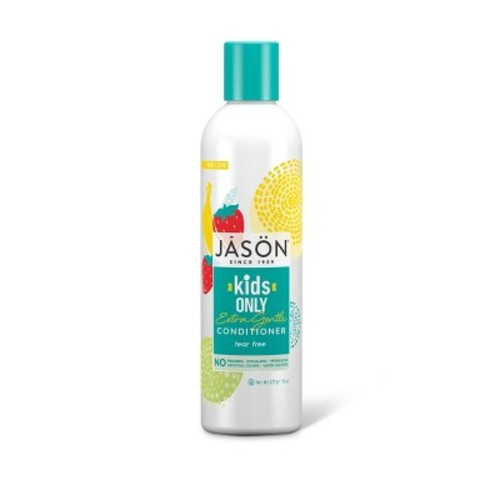 Jason Natural Cosmetics Specialty Hair Care, For Kids Only! Mild Conditioner, Chamomile & Marigold, 8 oz