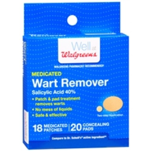 Walgreens Medicated Wart Remover Patches