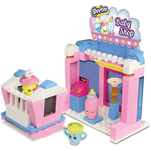 Shopkins Kinstructions Shopping Pack Buildable Playset - Baby Shop