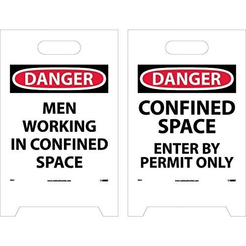 NMC FS21 Double Sided Floor Sign, Legend