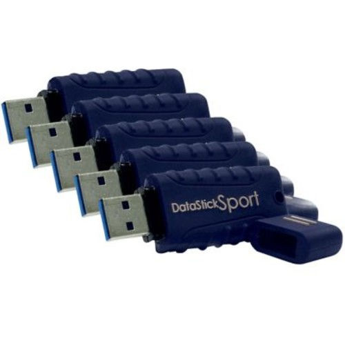 Centon MP ValuePack USB 3.0 Datastick Sport (Blue) 8GB 5Pack Bulk