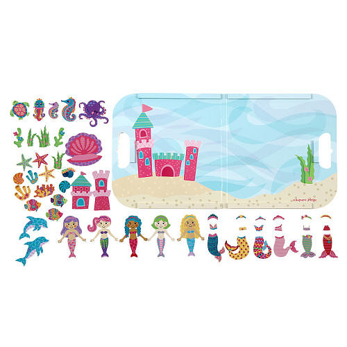 Stephen Joseph Magnetic Playset - Mermaid