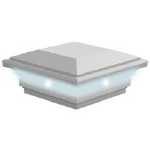 Deck Light System 4 in. x 4 in. Contemporary Post Top LED Light