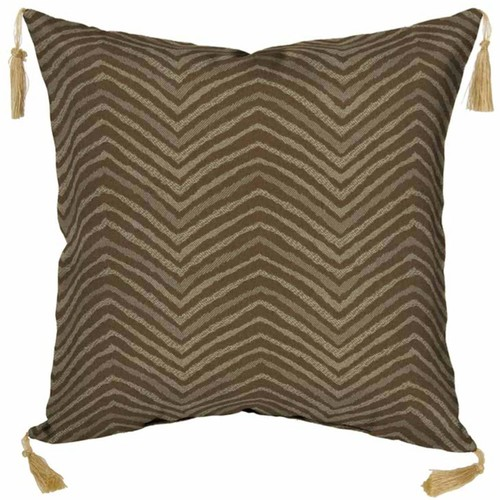 Bombay Outdoors Zebra Pattern 2-piece Reversible Throw Pillow Set