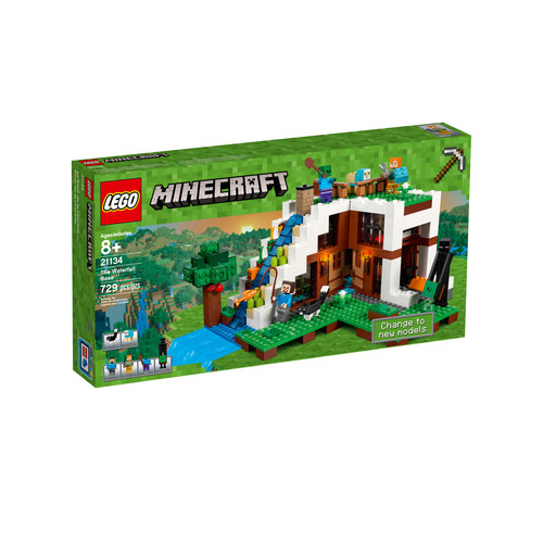 LEGO Minecraft The Waterfall Base #21134
