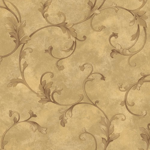Brewster Autumn Breeze Mint Faux Grasscloth Wallpaper
