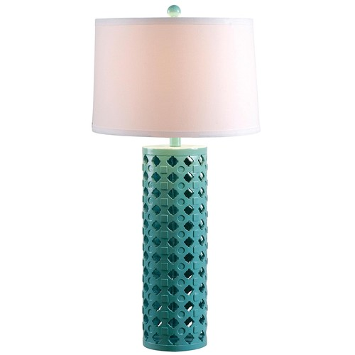 Kenroy Home 32272TEAL Marrakesh Table Lamp, Teal Finish [Teal]