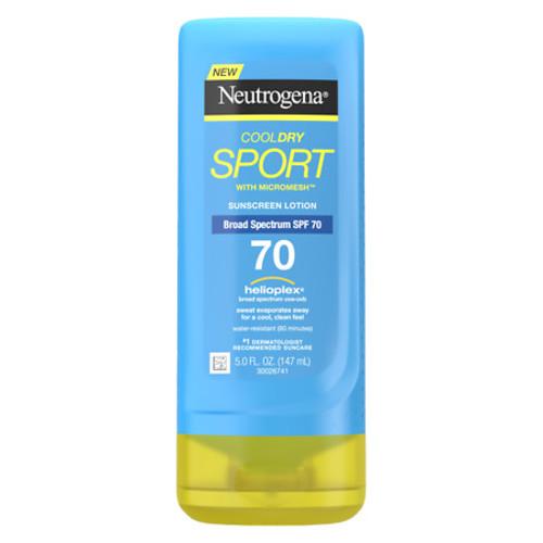 Neutrogena CoolDry Sport Sunscreen Lotion SPF 70