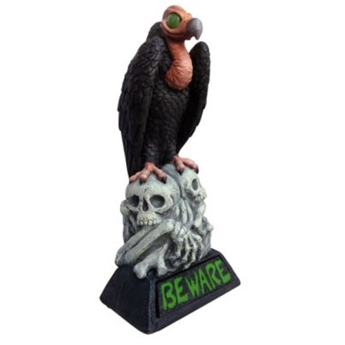 Design House Beware Vulture LED Light-Up Statue