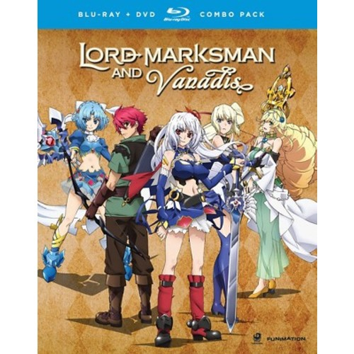 Lord Marksman And Vanadis: Complete Series (Blu-ray Disc)