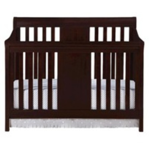 Eddie Bauer Port Townsend 4-in-1 Convertible Crib - Black Cherry