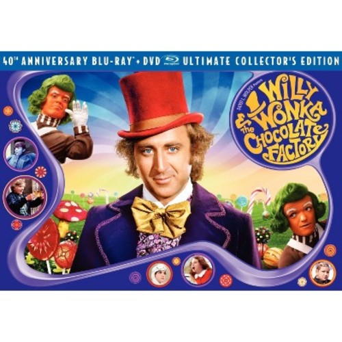 Willy Wonka and the Chocolate Factory 40th Anniversary Ultimate Collector's Edition (Three-Disc Blu-ray/DVD Combo)