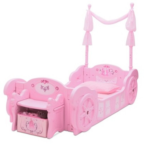 Disney Princess Carriage ToddlertoTwin Bed - Delta Children