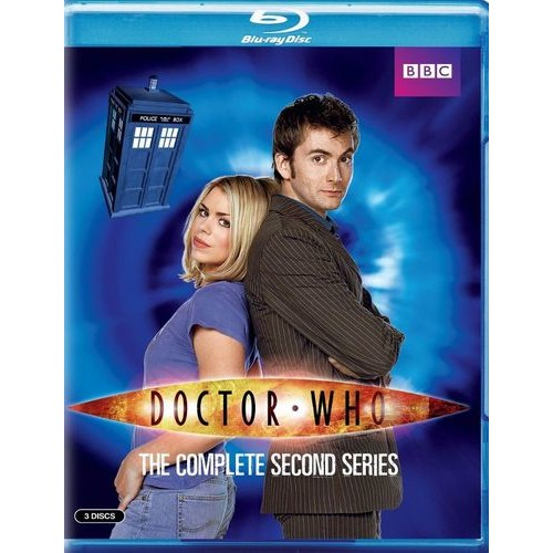 Doctor Who: The Complete Second Series [Blu-ray] [3 Discs]