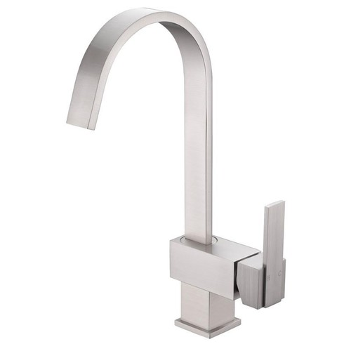 Cadell 2070074 Single Handle Kitchen Faucet [option : Brushed Nickel]