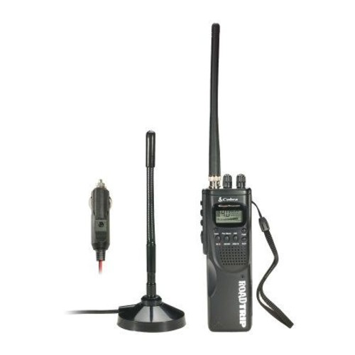 Cobra HH Roadtrip Handheld CB Radio w/Weather \u0026SoundTracker