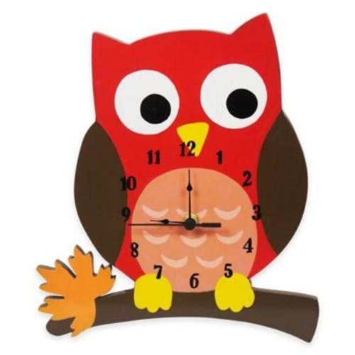 Teamson Enchanted Woodland Children's Wall Clock