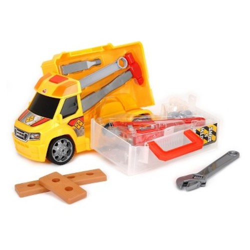 Dickie Toys Push & Play Construction Handyman Case Vehicle