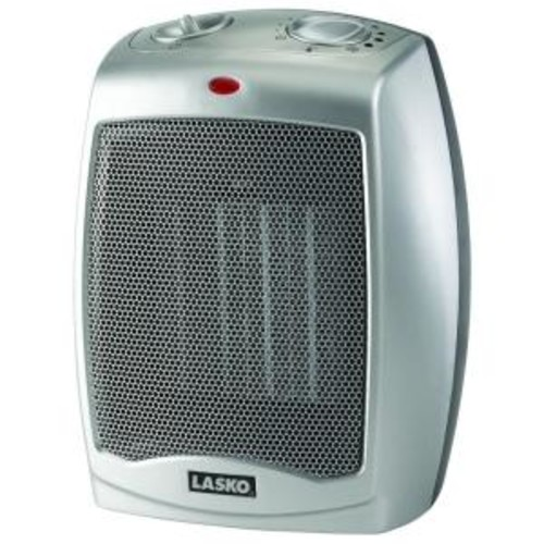 Lasko 9.2 in. 1500-Watt Electric Portable Ceramic Compact Heater