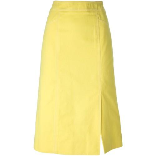 CÉLINE VINTAGE A-Line Midi Skirt