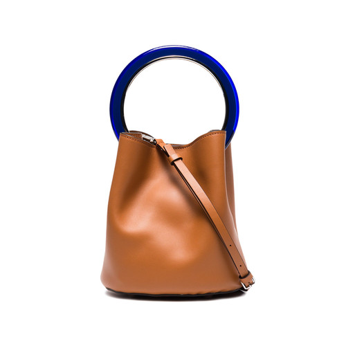 Brown Pannier bucket bag